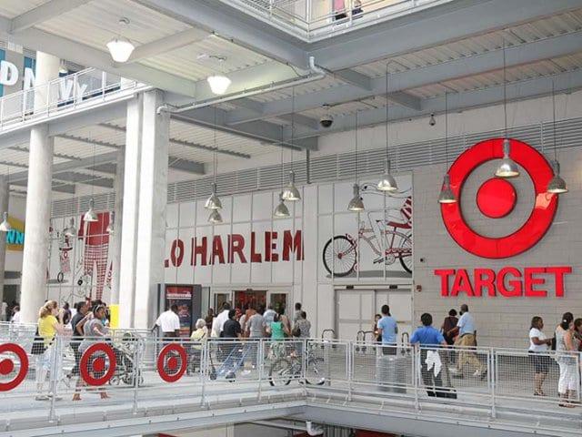 Loja Target em Nova York