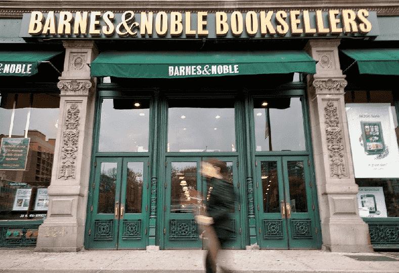 Livraria Barnes & Noble em Nova York