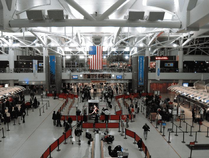 Aeroporto Internacional John F. Kennedy em Nova York