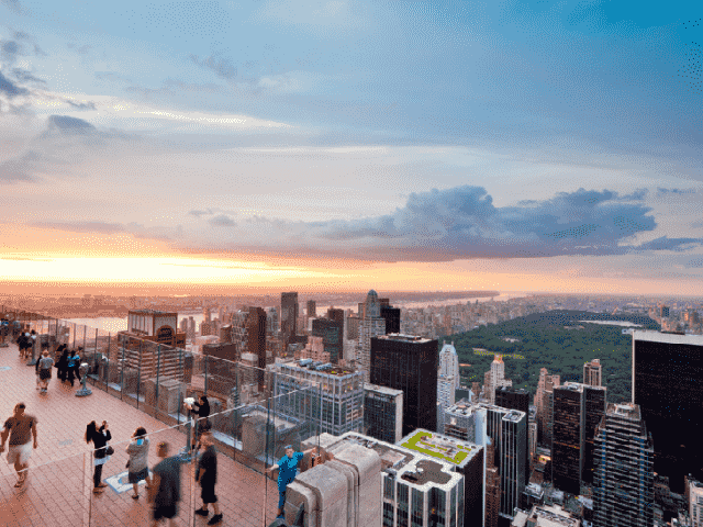 Top of the Rock: Observatório do Rockefeller Center em Nova York