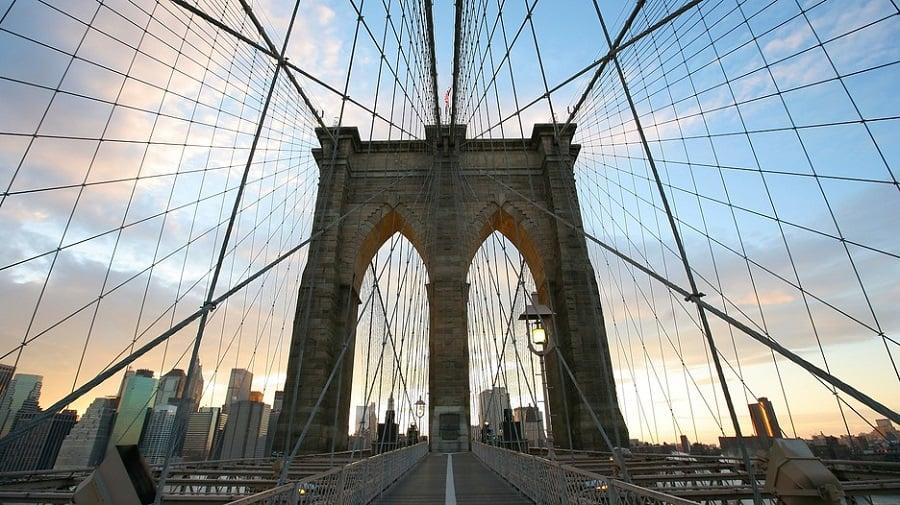 Brooklyn Bridge em Nova York