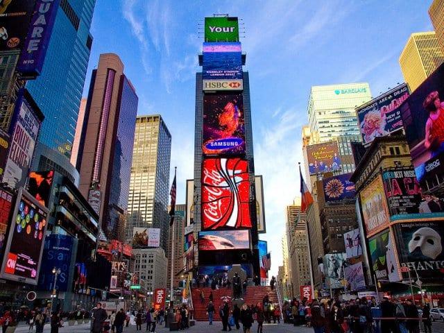 10 curiosidades sobre a Times Square em Nova York
