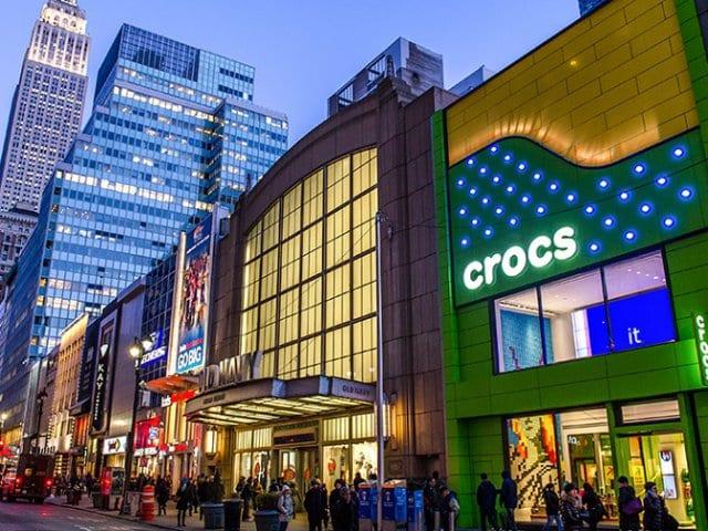 Onde comprar Crocs em Nova York