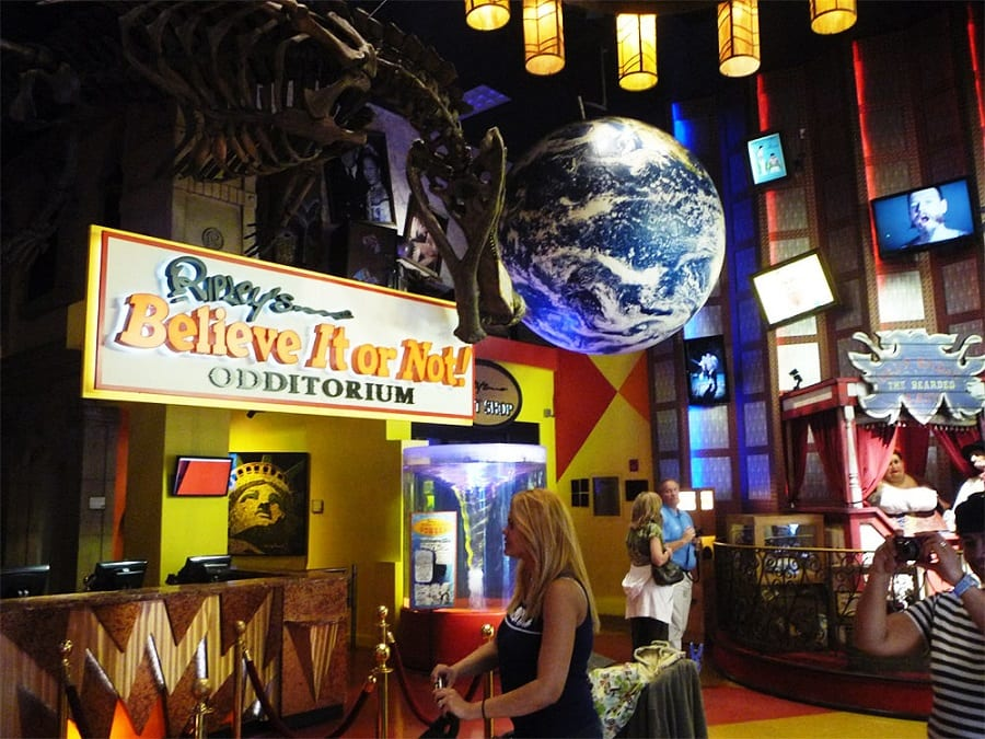 Museu Ripley's Believe it or Not em Nova York