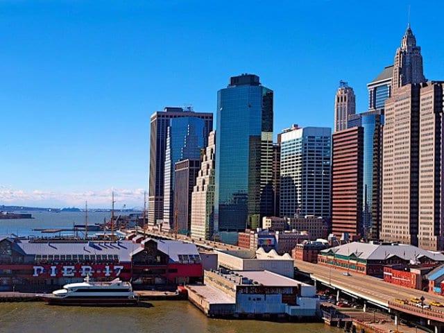 Pier 17 em Nova York