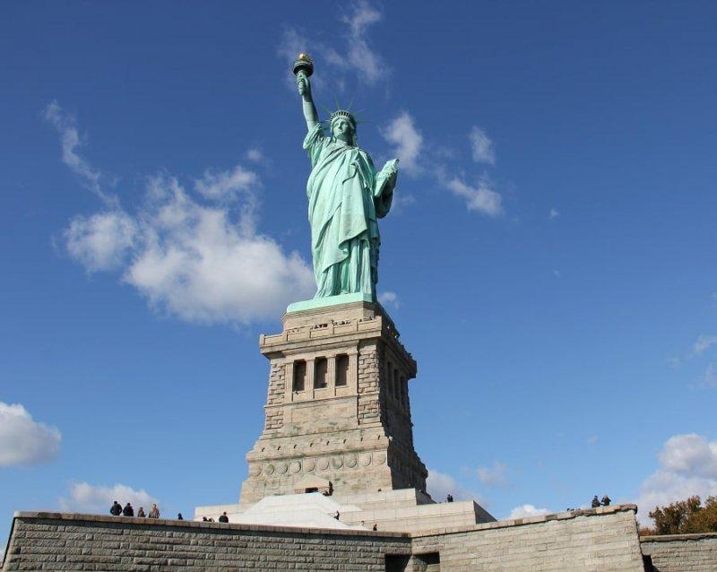 Estátua da Liberdade gratuitamente