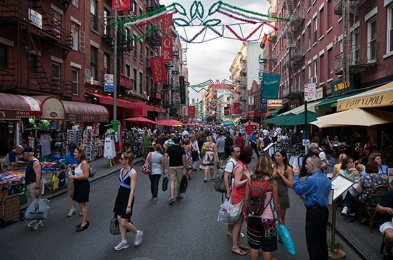 Little Italy em Nova York: Restaurantes italianos