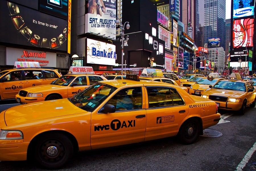 Táxi em Nova York