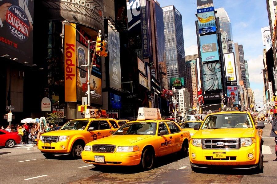 Táxis em Nova York