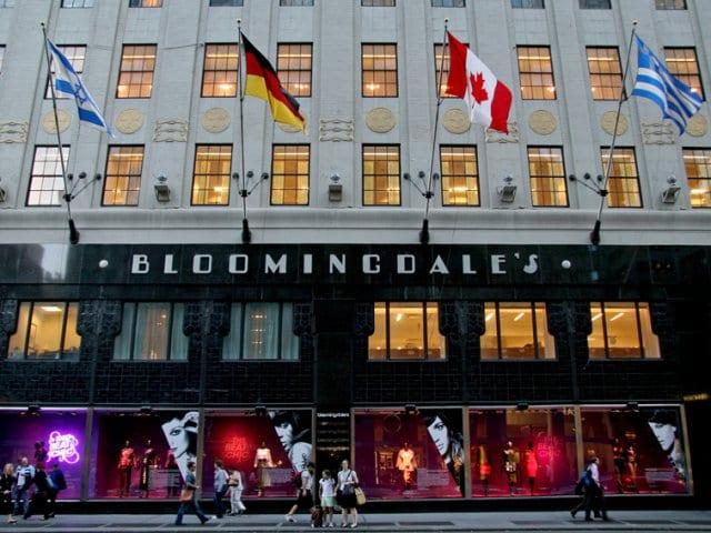 Loja Bloomingdale's em Nova York
