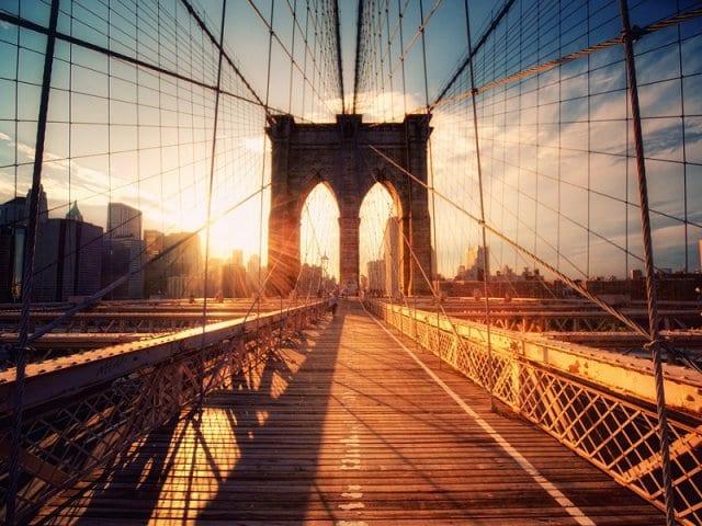 Ponte do Brooklyn em Nova York: Brooklyn Bridge