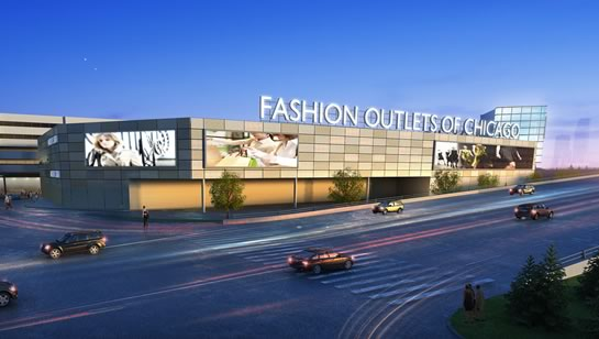 Fashion Outlets em Chicago