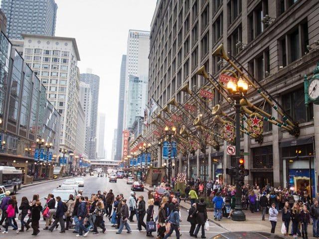 Shoppings em Chicago