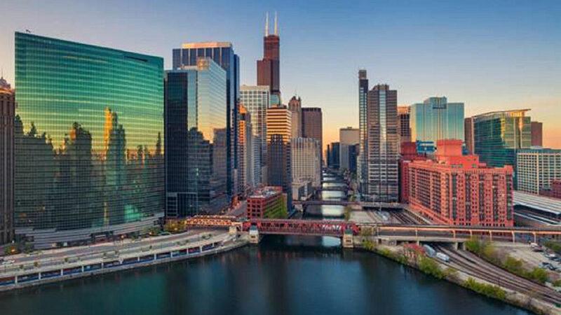 Como levar dólares para Chicago