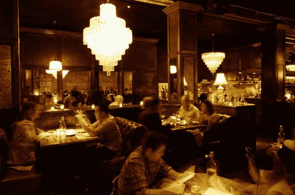 Restaurante Bavette's Bar and Boeuf em Chicago