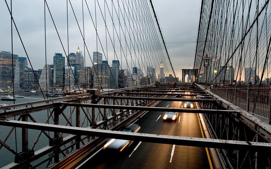 Brooklin Bridge em Nova York