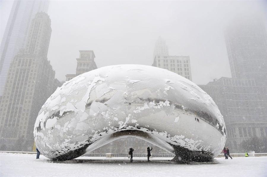 Clima de Inverno em Chicago