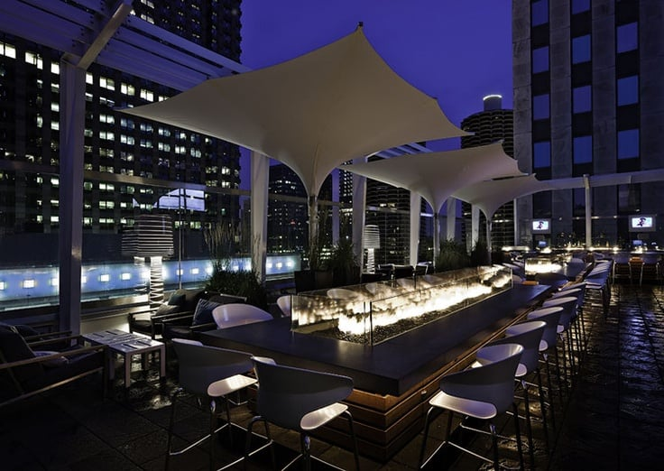Bar Roof on theWit em Chicago