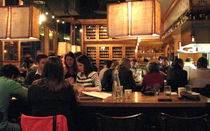 Restaurante The Purple Pig em Chicago
