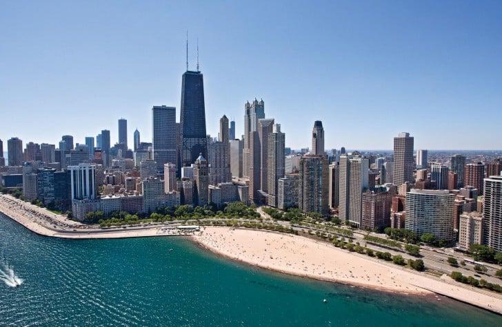 Clima de Verão em Chicago