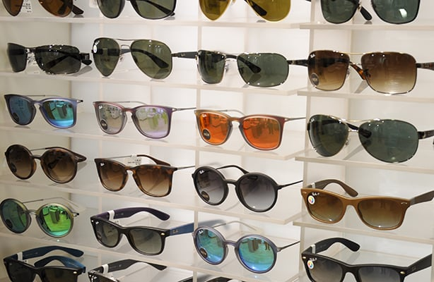 Onde comprar óculos escuro em Chicago