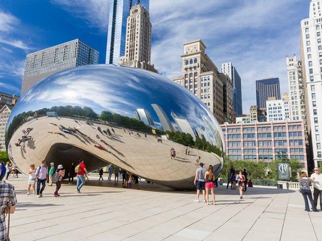 Crown Fountain em Chicago