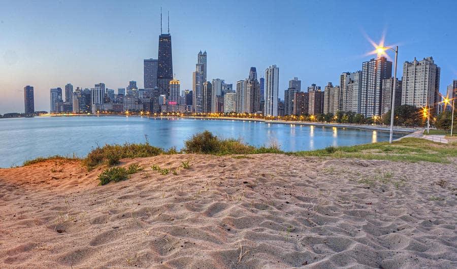 Praias em Chicago