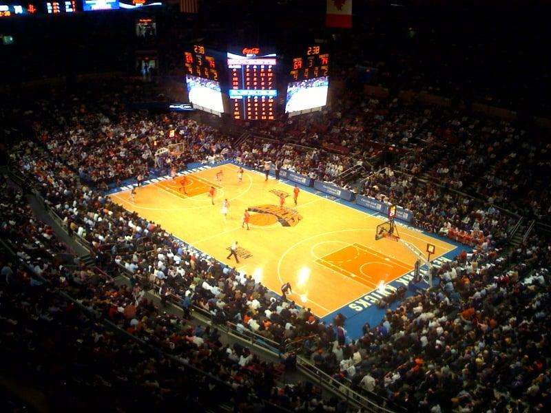 Assistir um jogo do New York Knicks da NBA