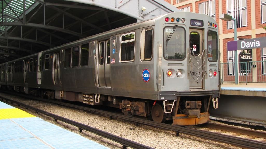 CTA Train Chicago - Transporte Público