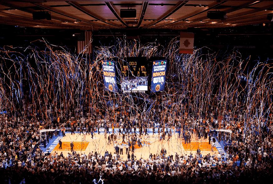 Jogo da NBA em Nova York