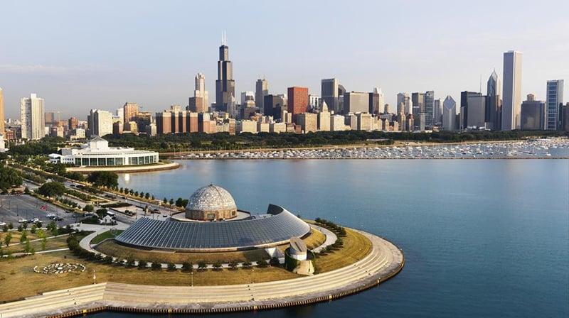 Viagem de carro de Chicago a Washingtonou de Washington a Chicago