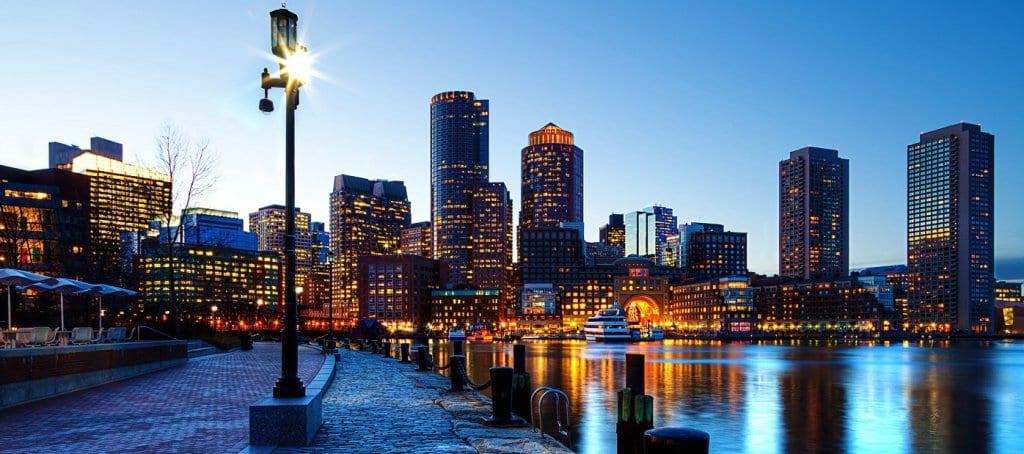 Viagem de carro de Bonton à Nova York ou de Nova York à Boston