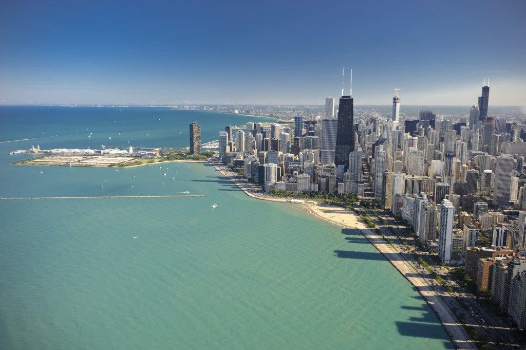 Viagem de carro de Chicago a Nova York ou de Nova York a Chicago
