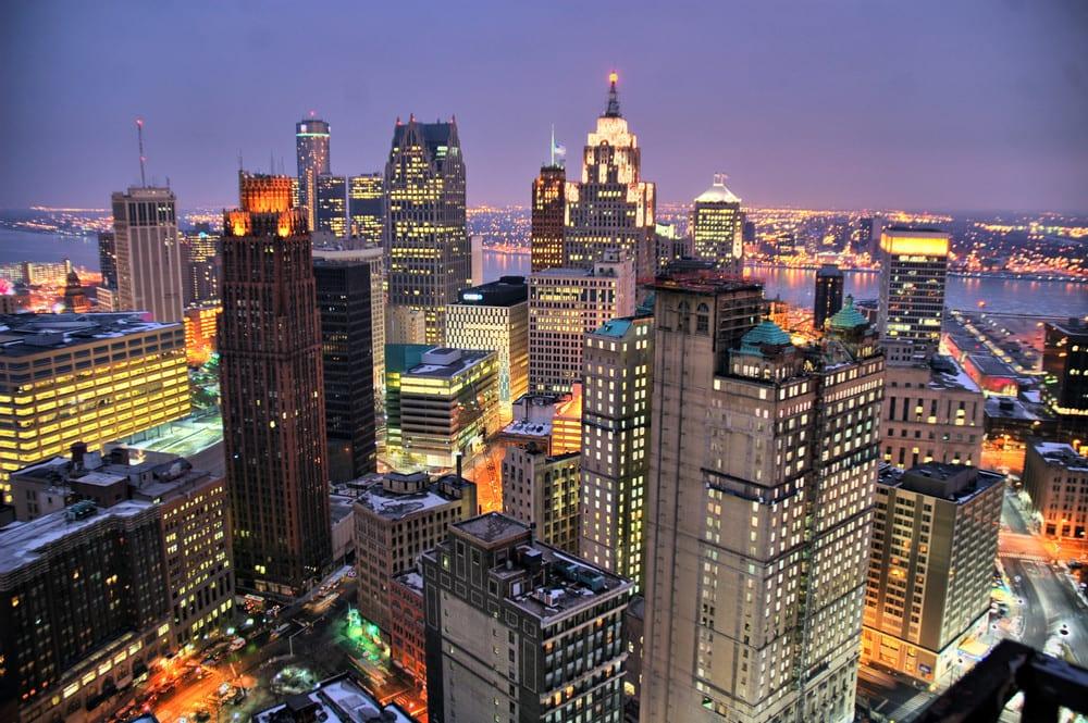 Como ir de Chicago à Detroit ou de Detroit à Chicago