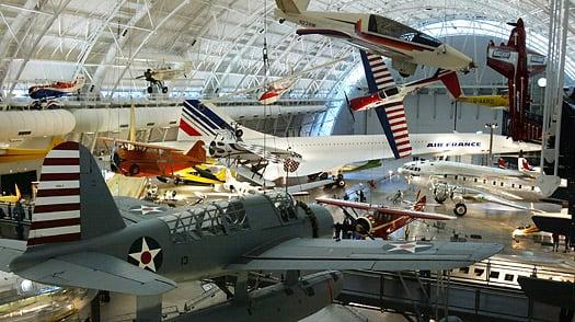 Conhecer o National Air and Space Museum em Washington