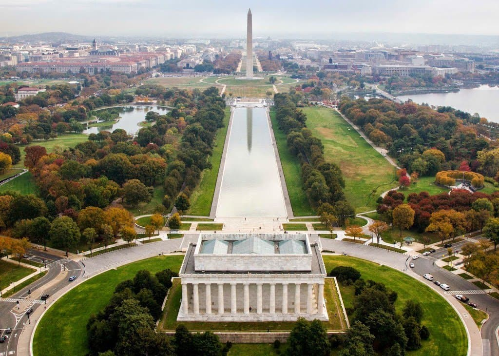 Passear pelo National Mall Washington