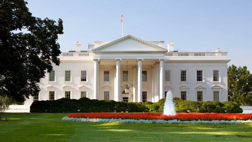 Passar pela Casa Branca em Washington