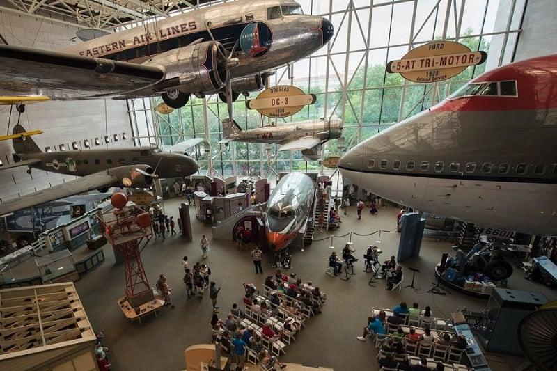 National Air and Space Museum em Washington