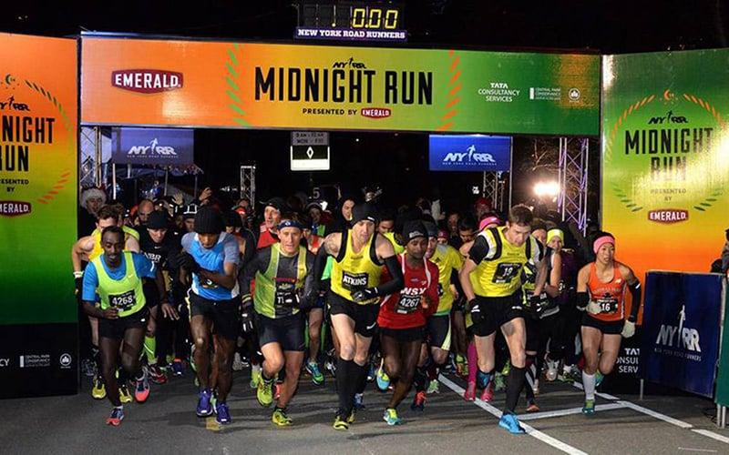 Midnight Run no Ano Novo no Central Park