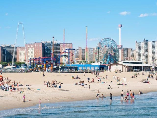 Parque de Coney Island em Nova York