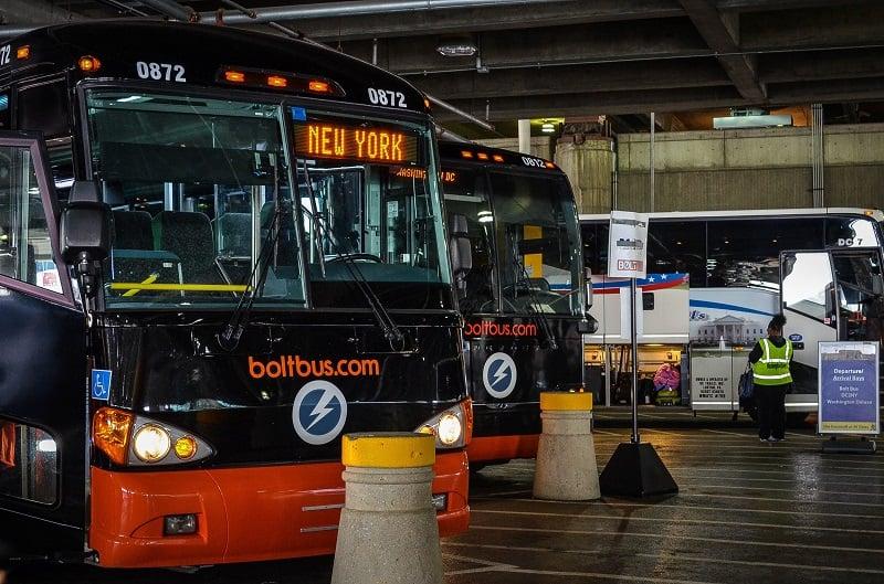 Como ir de Nova York à Filadélfia de ônibus
