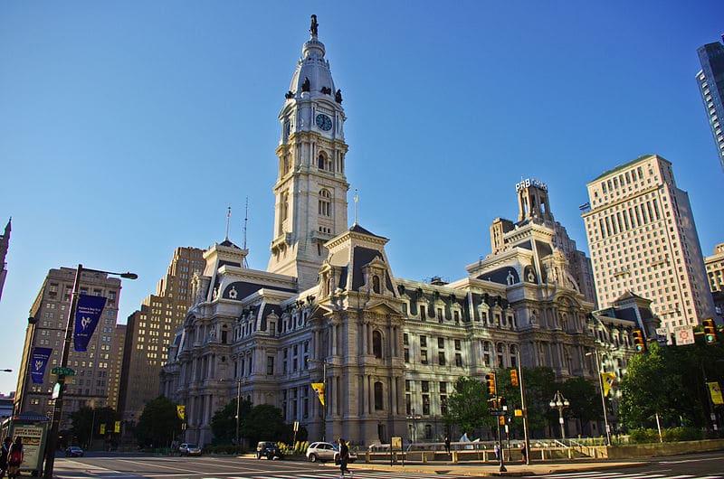 City Hall na Filadélfia