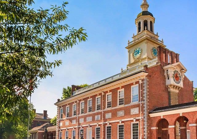 Independence Hall na Filadélfia