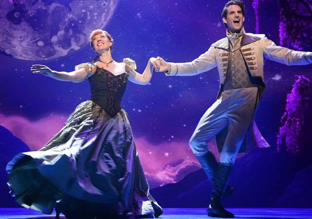 Musical Frozen na Broadway em Nova York