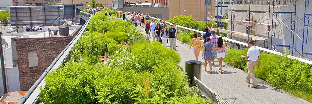 High Line in NY