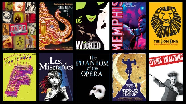 shows musicais da Broadway Nova York