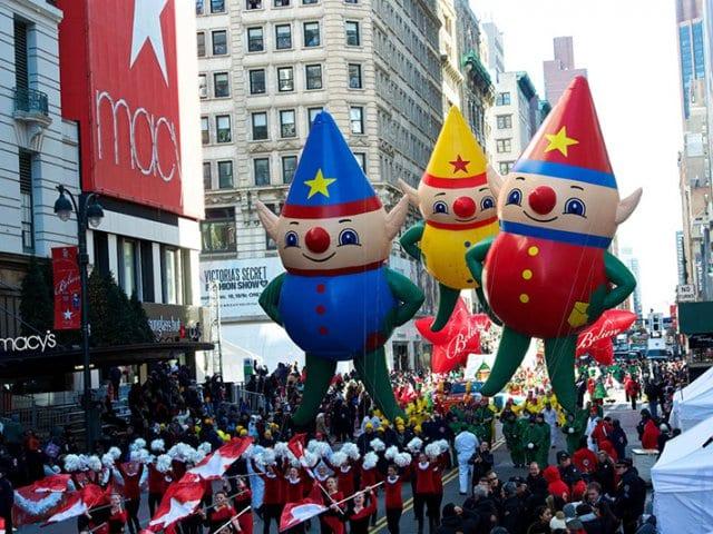 Desfile do Dia de Ações de Graça da Macy's em Nova York