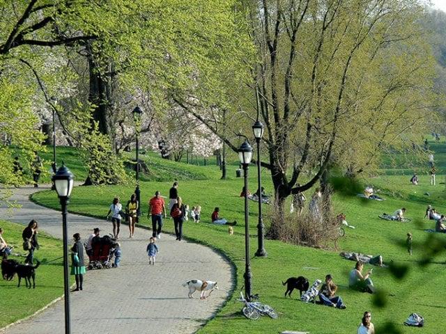 Parque Prospect Park em Nova York