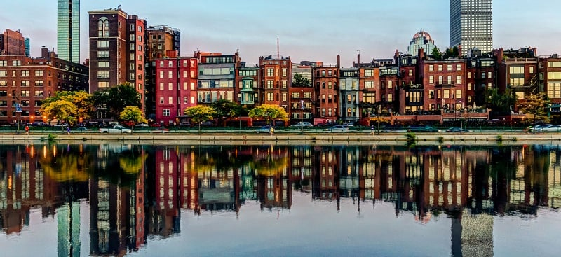 Back Bay em Boston