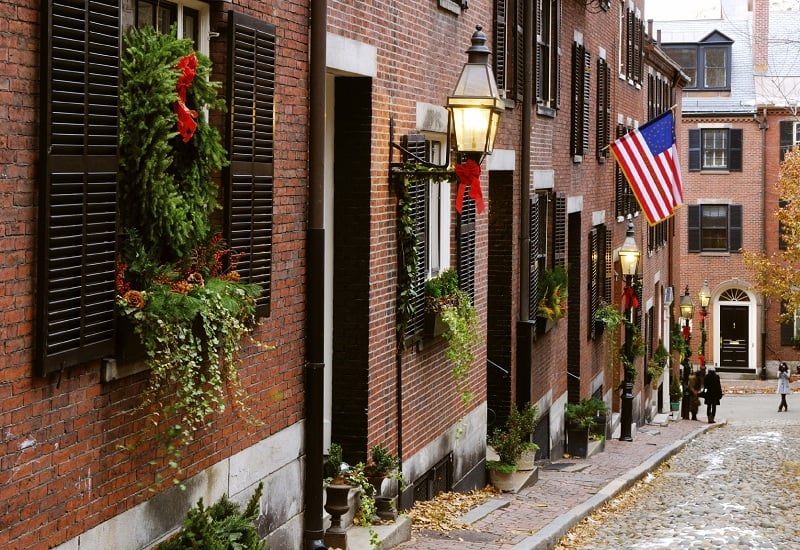 Beacon Hill em Boston